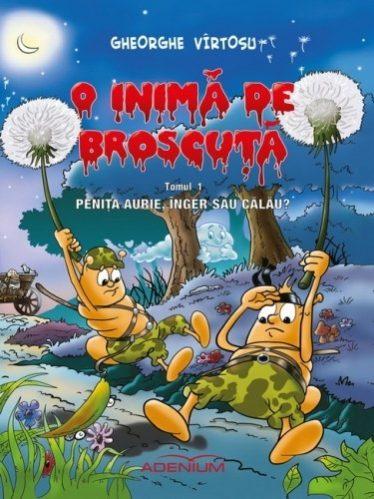 """Vol.1 BD """"O inimă de broscuță"""" - """"Penița aurie: înger sau călău?"""""""