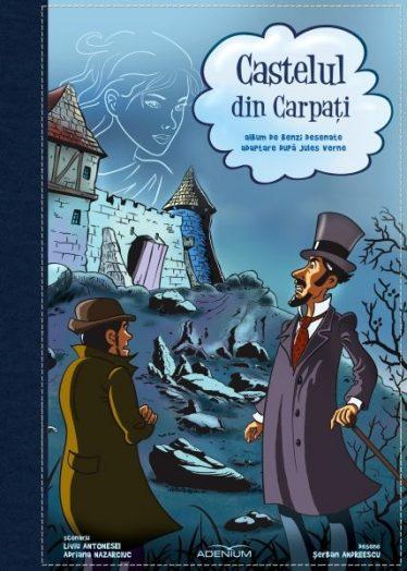 Castelul din Carpați. Album de benzi desenatte